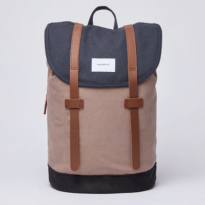 Sandqvist Stig Navy/Earth Brown