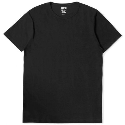 Edwin Double Pack SS Tee Black