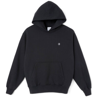 Polar Skate Co. Patch Hoodie Black