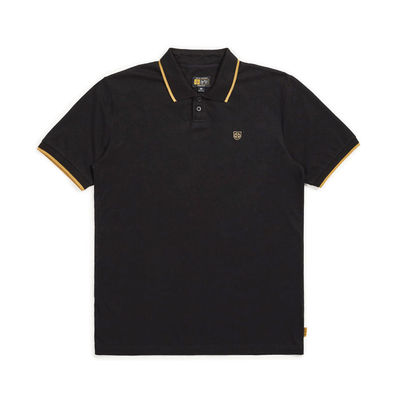 Brixton x Independent Guard S/S Polo Black