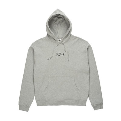 Polar Skate Co. American Fleece Hoodie Grey Heather