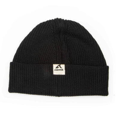 Asenne Merino Low Cut Beanie Black