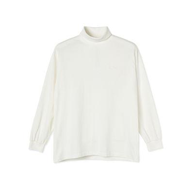 Polar Skate Co. Script Turtleneck Cloud White