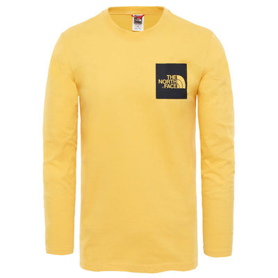 The North Face L/S Fine Tee TNF Yellow