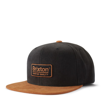 Brixton Palmer 3 MP Snap Back Amber / Black