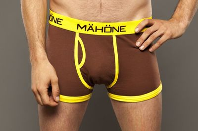 Mähöne Boxer Brief Brown/Yellow