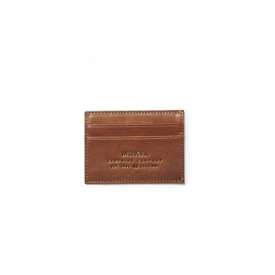 Makia Leather Wallet Brown