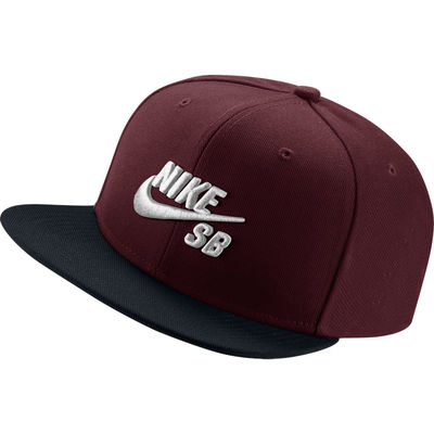 Nike SB Hat Dark Team Red/Black/Pine Green/White