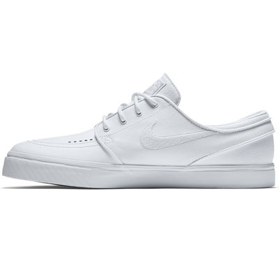 Nike SB Janoski Leather White/White-Wolf Grey