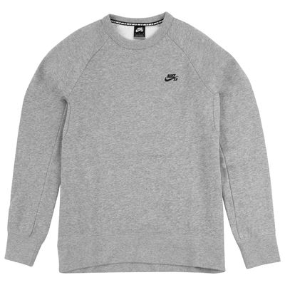 Nike SB Icon Crew Fleece Dark Grey Heather Black