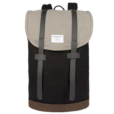Sandqvist Stig Multi Black/Grey/Brown