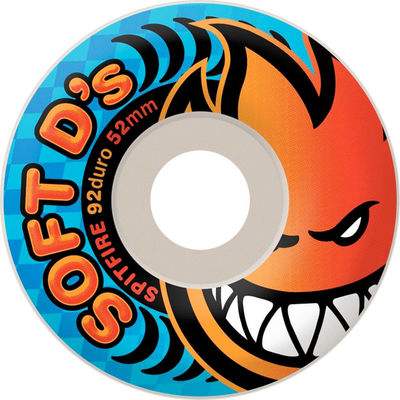 Spitfire Soft D's 92d White 56mm