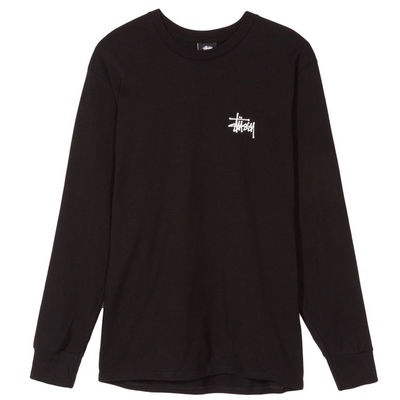 Stüssy Basic LS Tee Black