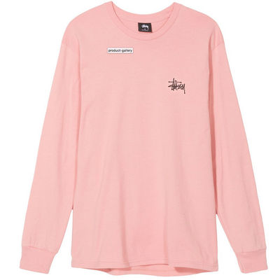 Stüssy Basic LS Tee Dusty Rose