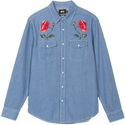 Stüssy Poppy Denim Shirt