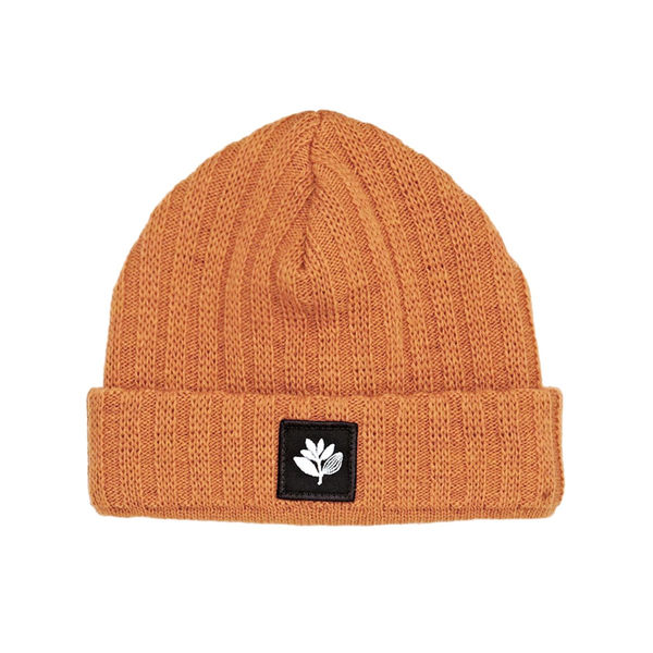 Magenta Beanie Heather Orange