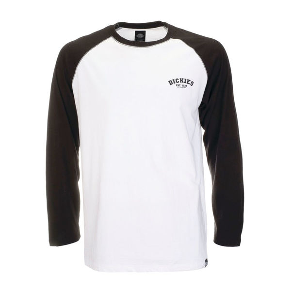 Dickies Baseball LS Black