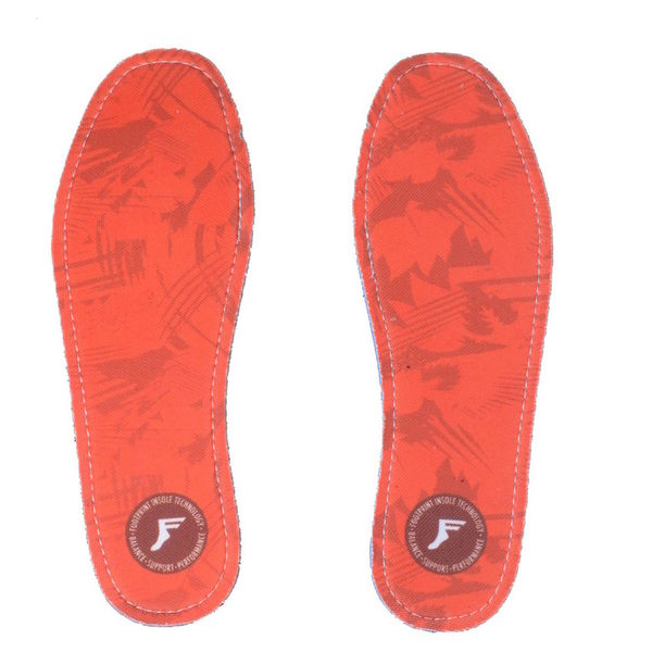 Footprint Kingfoam Flat Insoles 5mm Red Camo