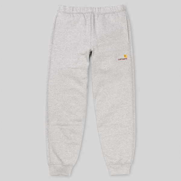 Carhartt WIP American Script Sweat Pant Grey Heather
