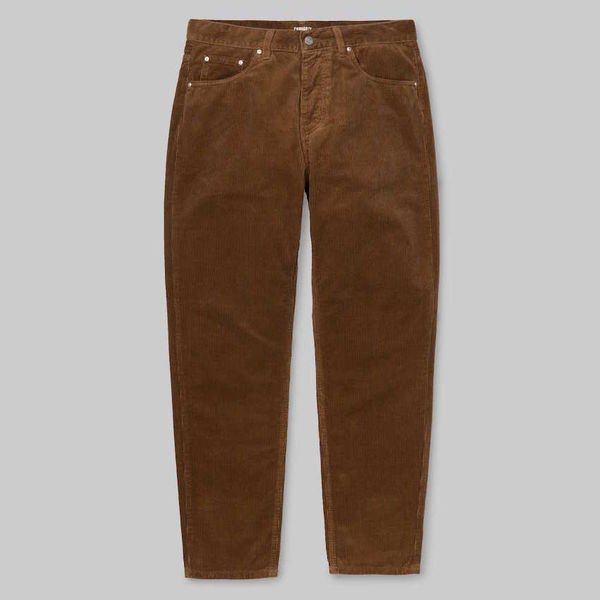 Carhartt WIP Newel Pant Hamilton Brown Coventry Rinsed