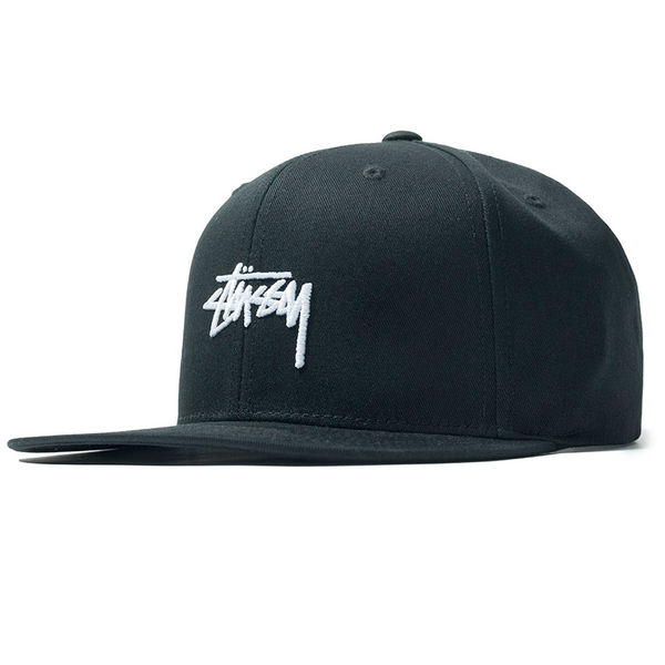 Stüssy Sp19 Stock Cap Black