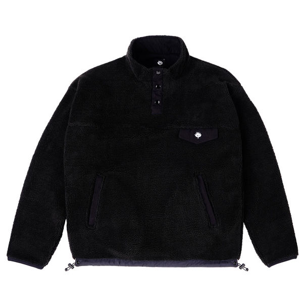Magenta MTN Fleece Black