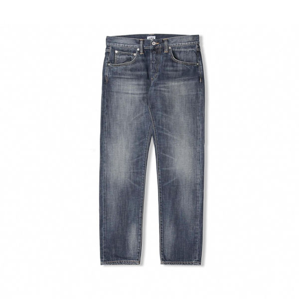 Edwin ED-55 Dark Blue Denim Grime Dirt Wash