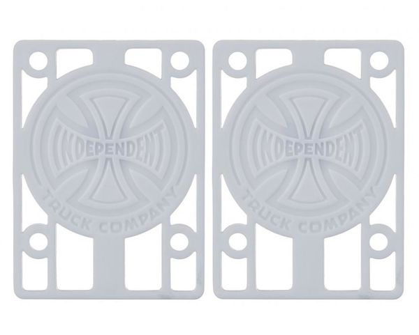 Independent Riser Pads White 1/8""