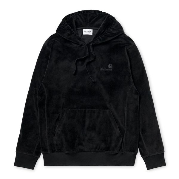 Carhartt WIP Hooded United Script Sweatshirt Black