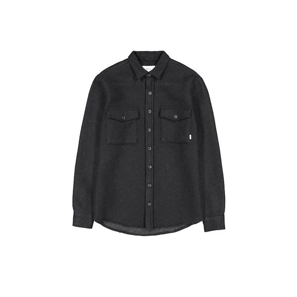 Makia Outland Overshirt Black