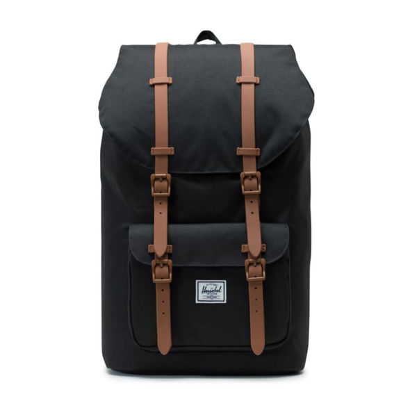 Herschel Little America Black/Saddle