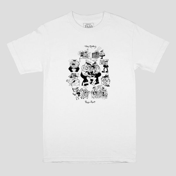 PassPort Coppers Tee White