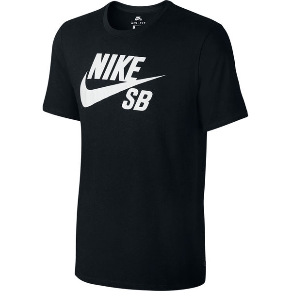 Nike SB Dri-Fit Logo Tee Black