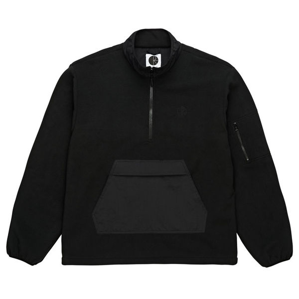 Polar Skate Co. Gonzalez Fleece Jacket Black/Black