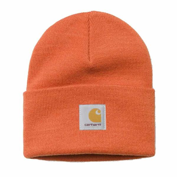 Carhartt WIP Acrylic Watch Hat Persimmon