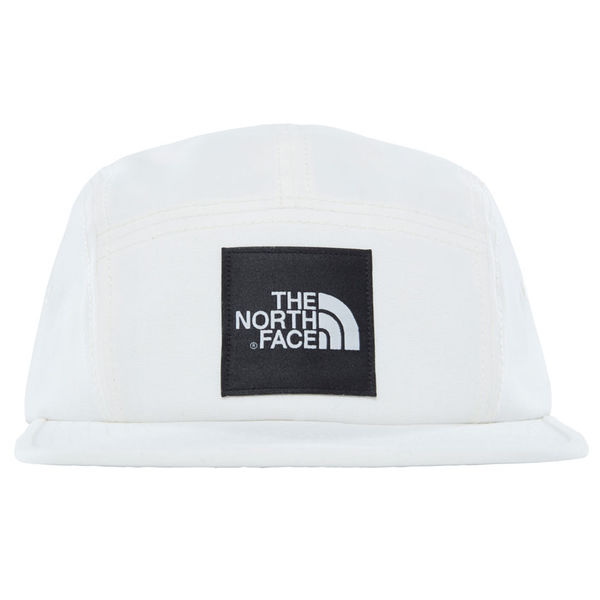 The North Face 5 Panel Ball Cap Vintage White