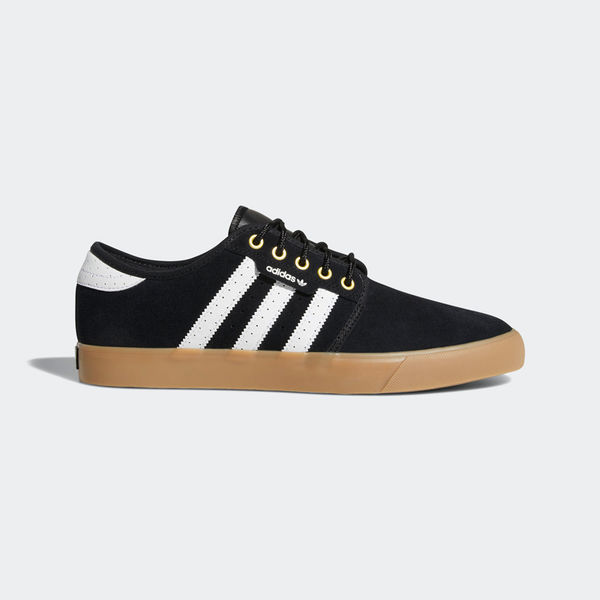 Adidas Seeley Black/ White/ Gold