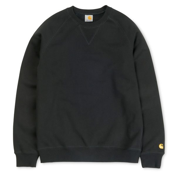 Carhartt WIP Chase Sweat Black/Gold