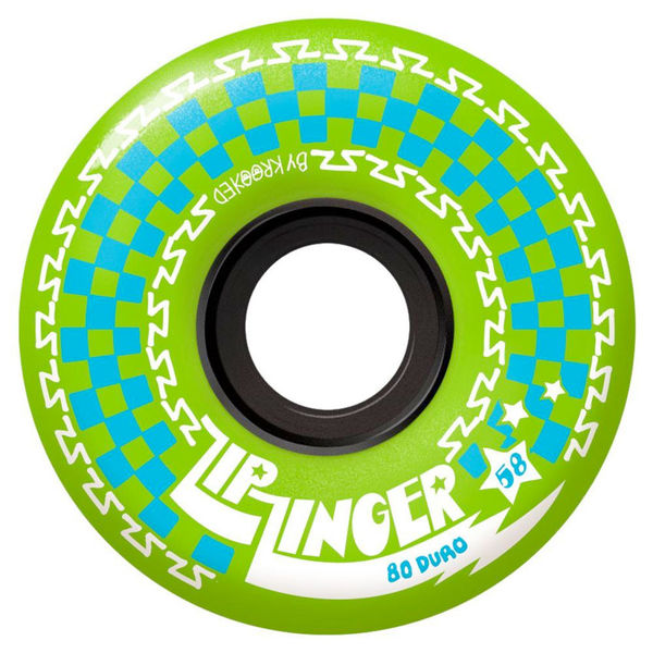 Krooked Zip Zinger 80d 58mm Green
