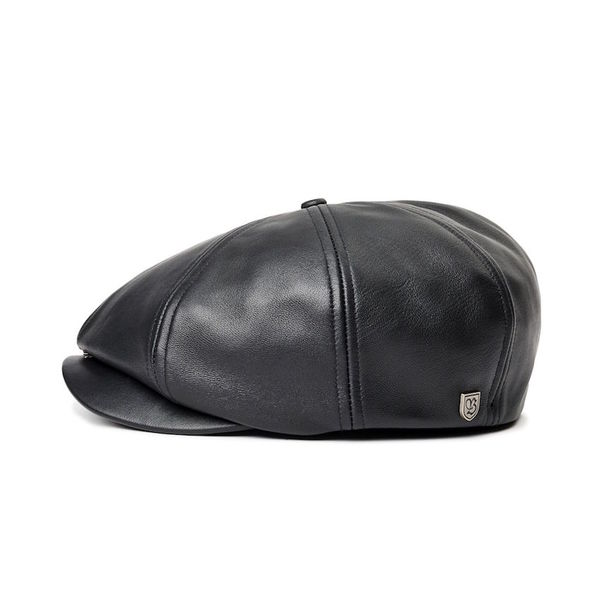 Brixton Brood Black Leather