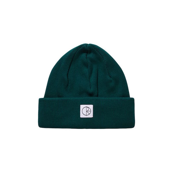 Polar Skate Co. Double Fold Beanie Dark Green