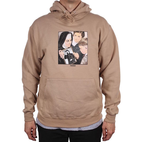 Theories Of Atlantis Sunday School Pullover Hoodie Sand