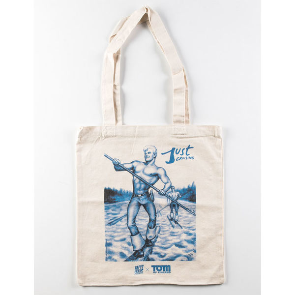 Happy Hour x Tom Of Finland Just Cruising Tote Bag