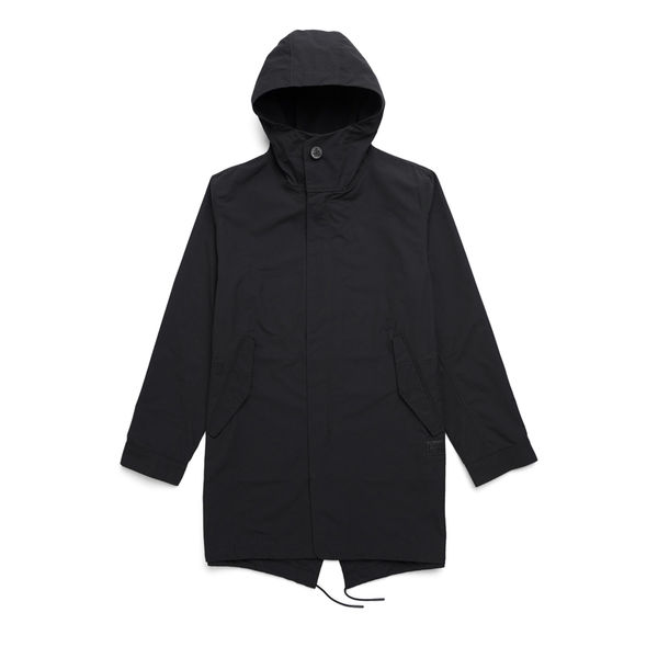 Herschel Fishtail Parka Black