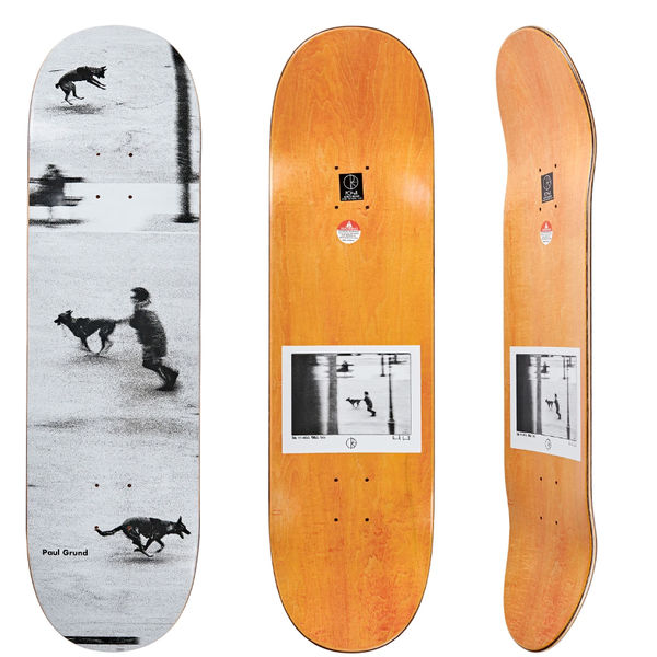 "Polar Skate Co. 8,5"" Paul Grund Dog Studies"
