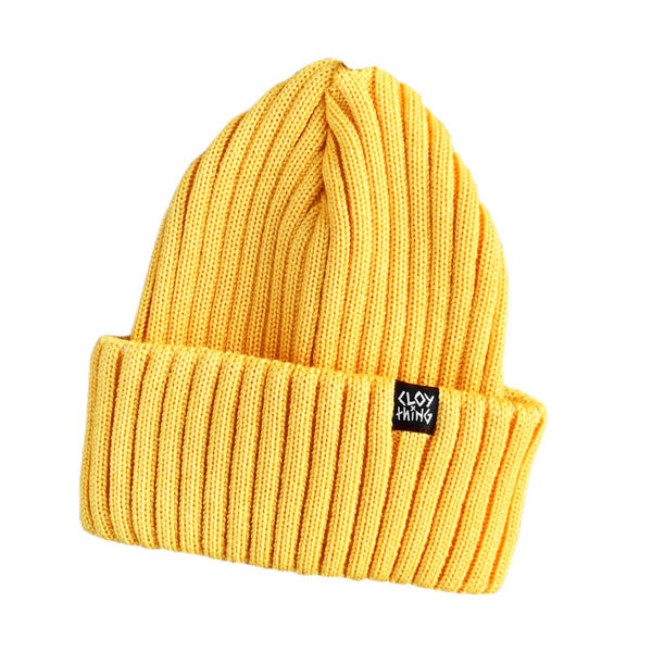 Cloything Robber Beanie Yellow