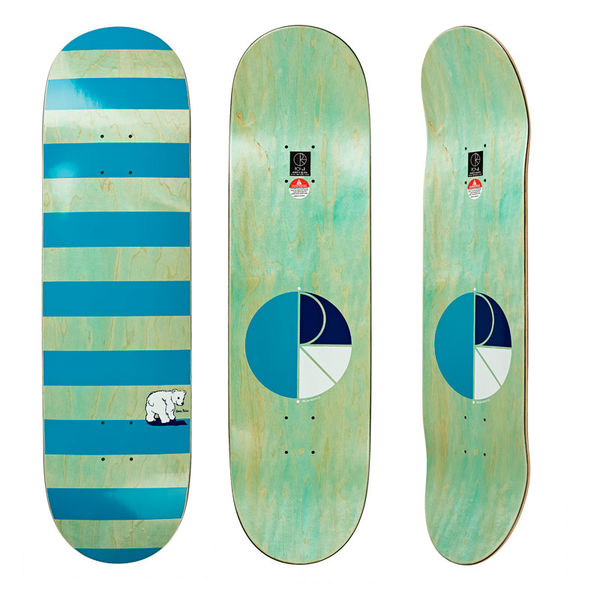 "Polar Skate Co. 8,6"" Block Stripe Deck"
