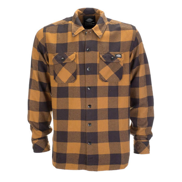 Dickies Sacramento Flannel Brown Duck