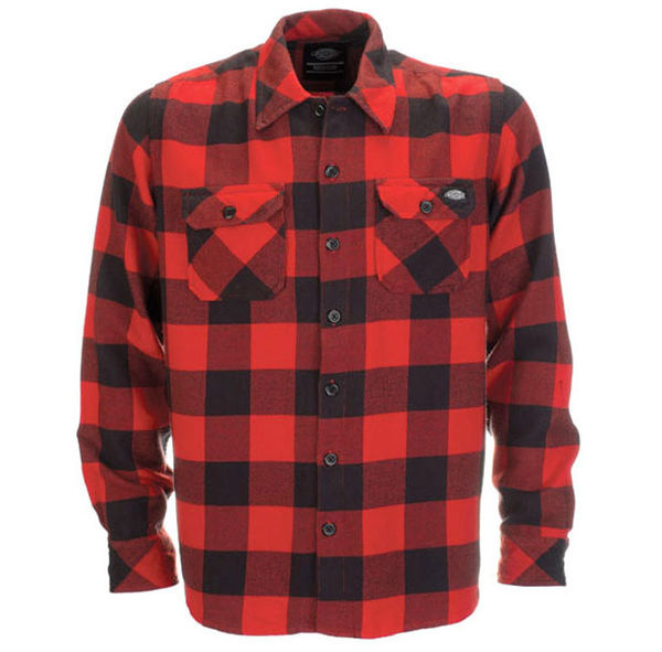 Dickies Sacramento Flannel Red