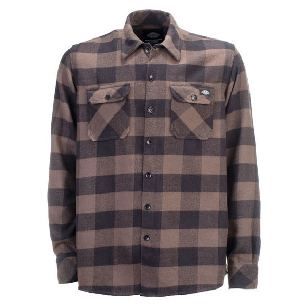 Dickies Sacramento Flannel Gravel Gray